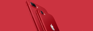 iPhone 7 (PRODUCT) RED og ny 9.7